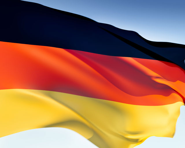 The first flag of Germany was adopted in 1848,